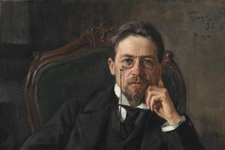 Anton Chekhov portrait