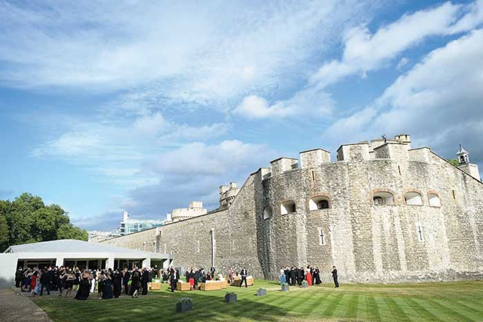 The Pavilion at the Tower of London.