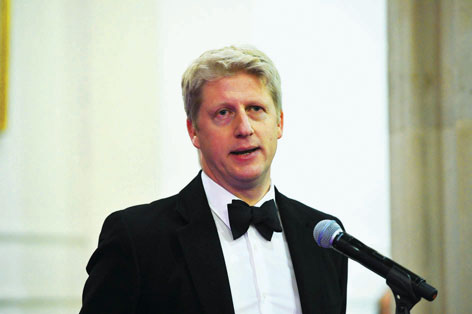 Jo Johnson MP, Minister for Science and Universities, spoke at the reception.