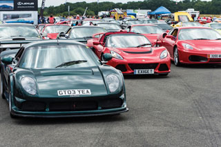 175 supercars took part in the two-day event.